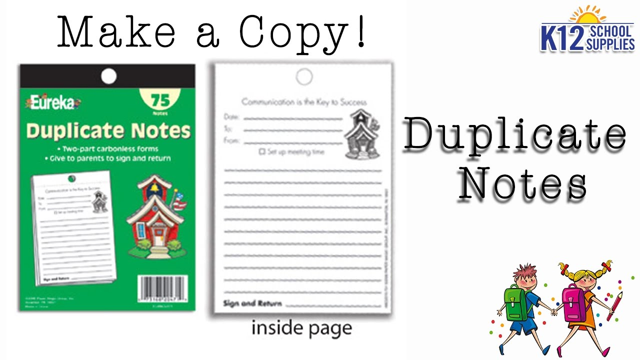 carbonless copy forms duplicate notepad hall pass pad youtube