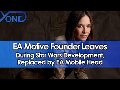 EA Motive Founder Jade Raymond Leaves During Star Wars Development, Replaced  EA Mobile Head