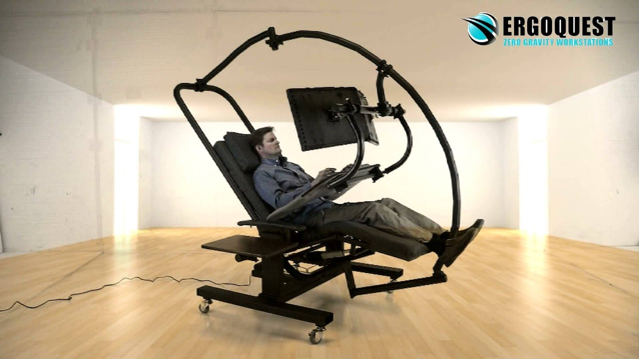Ergoquest zero gravity chairs and workstations - Ergoquest Zero Gravity Chairs And Workstations 6