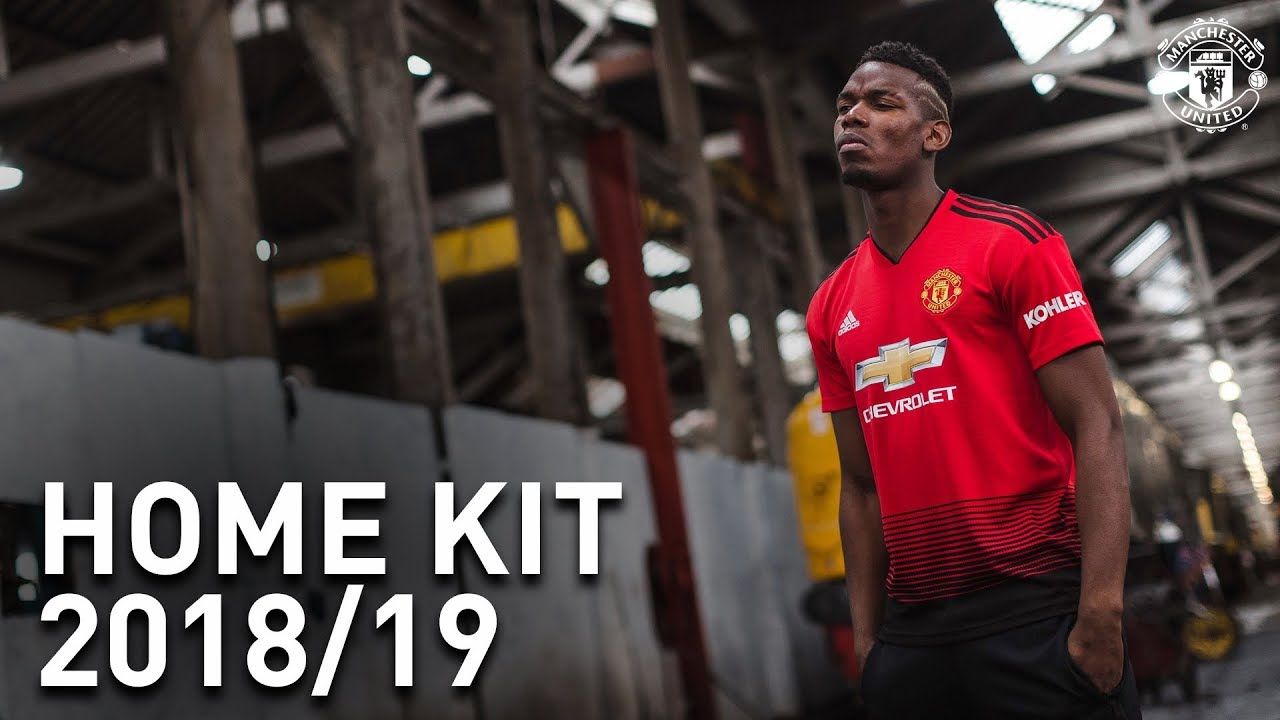 fbb2d1c9767 Introducing The Manchester United Home Kit - YouTube
