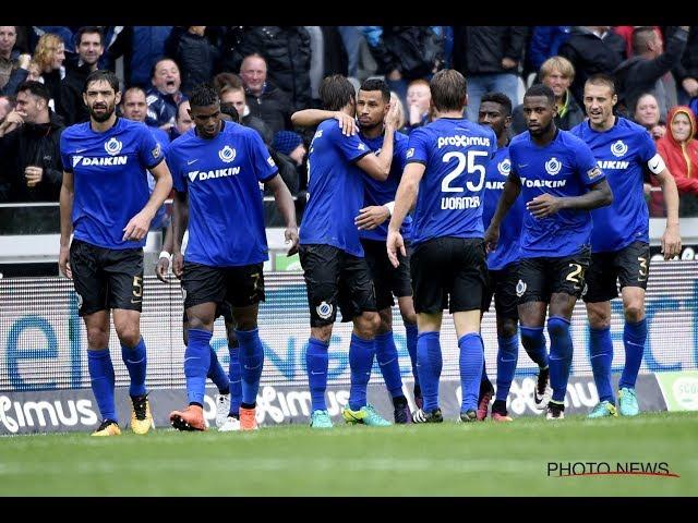 2016-2017 - Club Brugge - AA Gent - GOAL Ricardo Van Rhijn