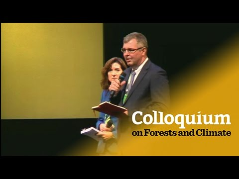 Colloquium on Forests & Climate: Lisa Goddard and Peter Holmgren's closing address