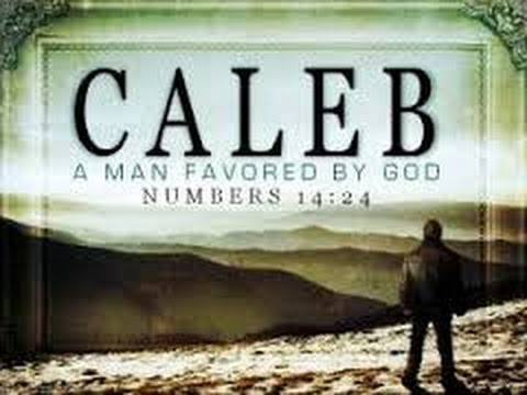 A Man Favoured by God: 'Caleb The Kenezite': Numbers 32: 12 - J. Cope
