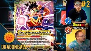 Présentation de Deck - Dragon Ball Super Card Game #2