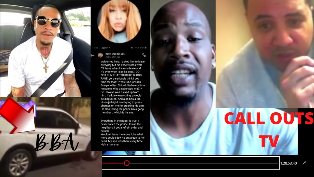CALL ME BOSSLY G-SHINE BLOOD GETS EXPOSED FOR CO-SIGNING EX BLOOD WILDKAT WHOS LOCKED ON DV CASE