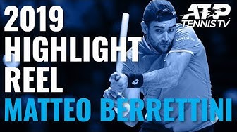 MATTEO BERRETTINI: 2019 ATP Highlight Reel