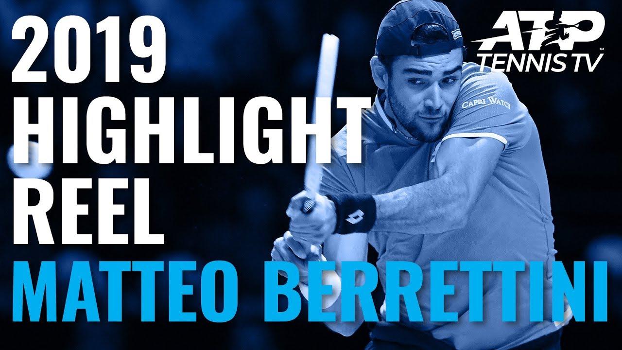 Matteo Berrettini: 2019 ATP Highlight Reel