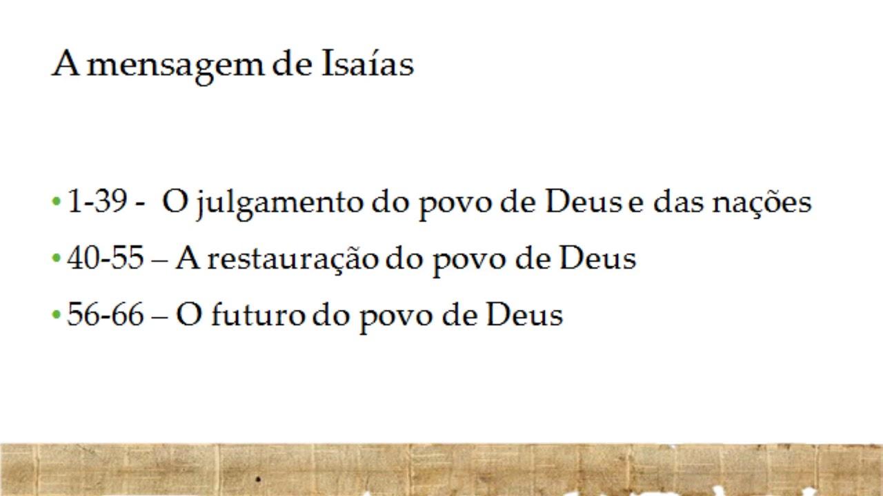 Exposição Bíblica em Isaías 55 -  Pr. Mauro Meister