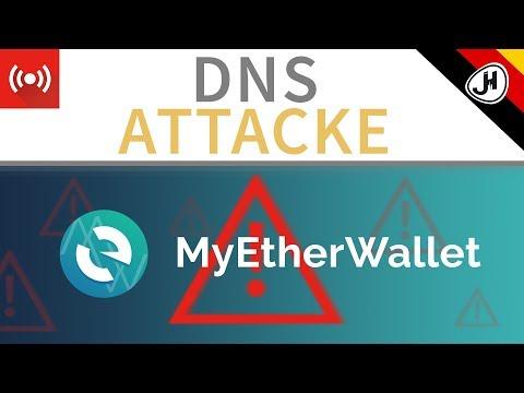 DNS Attacke bei MyEtherWallet - Wie dagegen schützen? (German)