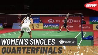 YONEX Thailand Open | Day 4: Tai Tzu Ying (TPE) [1] vs. Michelle Li (CAN) [8]