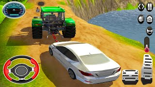 Real Cargo Tractor Pulling Simulator   Offroad Chained Truck Towing Rescue   Android GamePlay 3