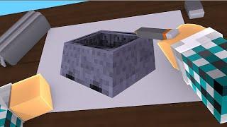 COLORINDO UM CARRINHO DO MINECRAFT !! - [ Minecraft Desenho #4 ]