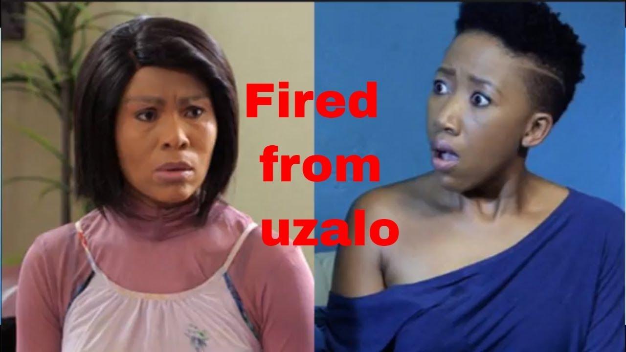 Manzuza And Smangele Let Go From Uzalo Youtube