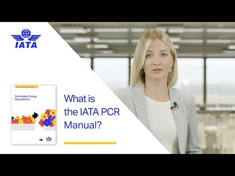 What is IATAs Perishable Cargo Regulations Manual?