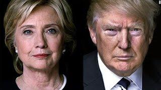 Hillary Clinton vs Donald Trump   Clinton Calls Trump Republican Party's Presumptuous Nominee