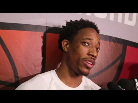 DeMar DeRozan on Kyle Lowry signing 'I wasn't too worried about it""