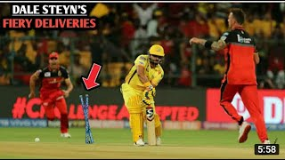 5 incredible bowled wicket by S.african legend Dale steyn.