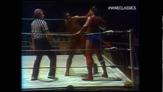 Freight Train Rufus R. Jones goes one on one with Hacksaw Butch Ree...