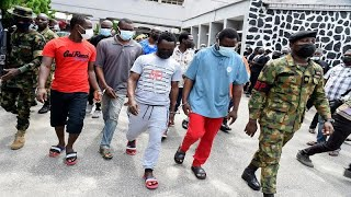 Nigeria jails 10 pirates over ship hijacking