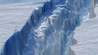 Antarctic Continent is Splitting in Half- Strange Events Detected Worldwide thumbnail