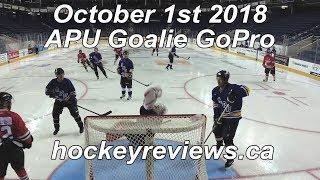 October 1st 2018 APU Hockey Goalie GoPro Call Up