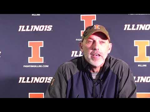 Illinois Fighting Illini football press conference