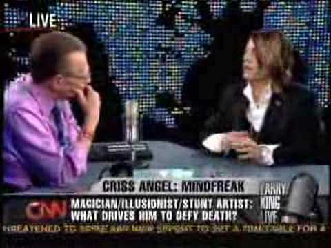 "Larry King Live - ""Mind Freak"" Criss Angel"