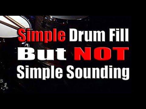 Beginner Drum Fills ★ (Learn How To Play Easy & Fun Drum ...