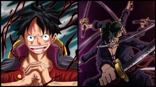 One Piece Capitolo 1010 Spiegato e Teoria - Due POWER UP incredibili per Luffy e Zoro! HAKI DEL RE!