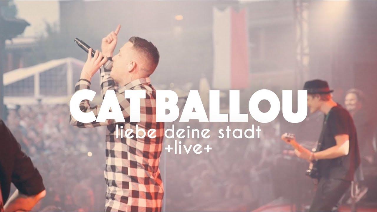Download CAT BALLOU feat. MO-TORRES - LIEBE DEINE STADT (Live im Tanzbrunnen Köln)