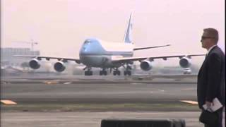Arrival of US President Barack Obama 4282014