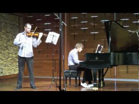 Emil Altschuler and Artem Belogurov play Mozart