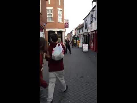 Random Fight At Colchester Town