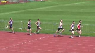 Командный Чемпионат России. Мужчины. Бег 800 метров