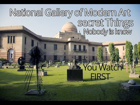 NGMA (National Gallery of Modern Art- A secret about the NGMA-Place for Sketching.Kalabhumi