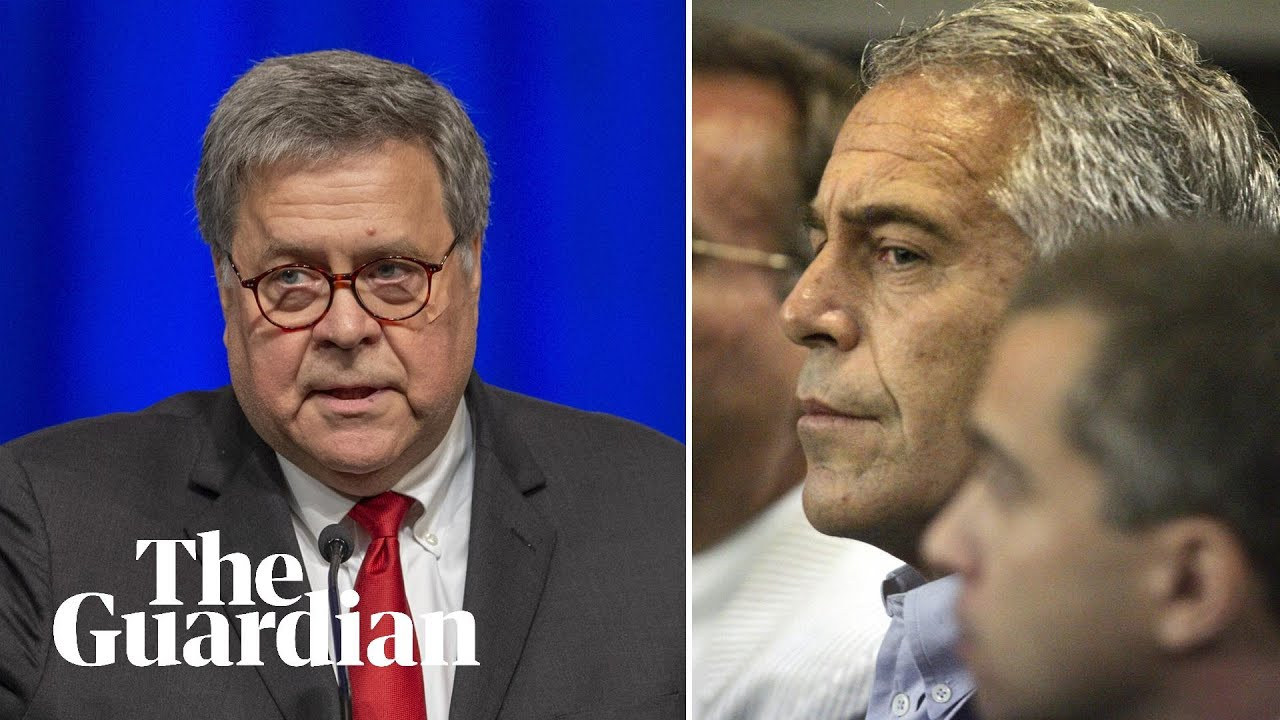 Jeffrey Epstein's co-conspirators 'should not rest easy' warns William Barr
