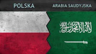 POLSKA vs ARABIA SAUDYJSKA - Porównanie potencjałów wojskowych ✪ 2018