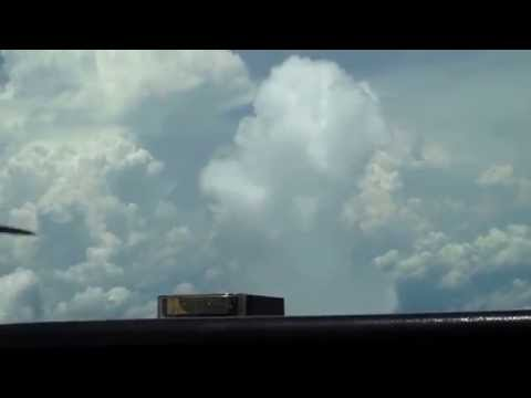Cessna 310Q Flight from 28J (Palatka, FL) to KHEF (Manassas, VA) passing rising cells