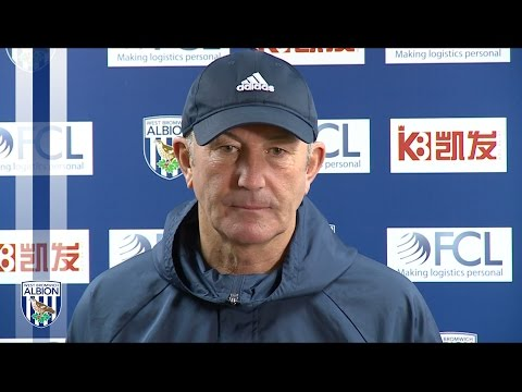 Tony Pulis previews Albion's Premier League clash with Crystal Palace