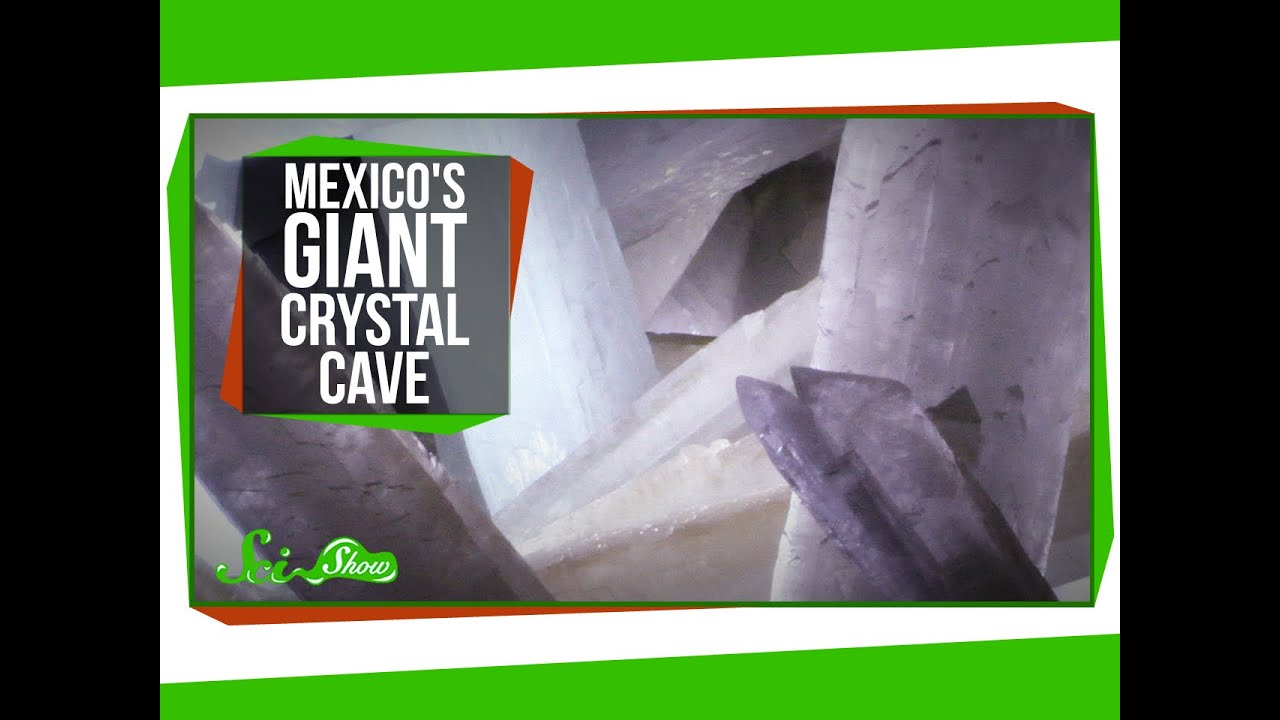weird places mexico s giant crystal cave youtube