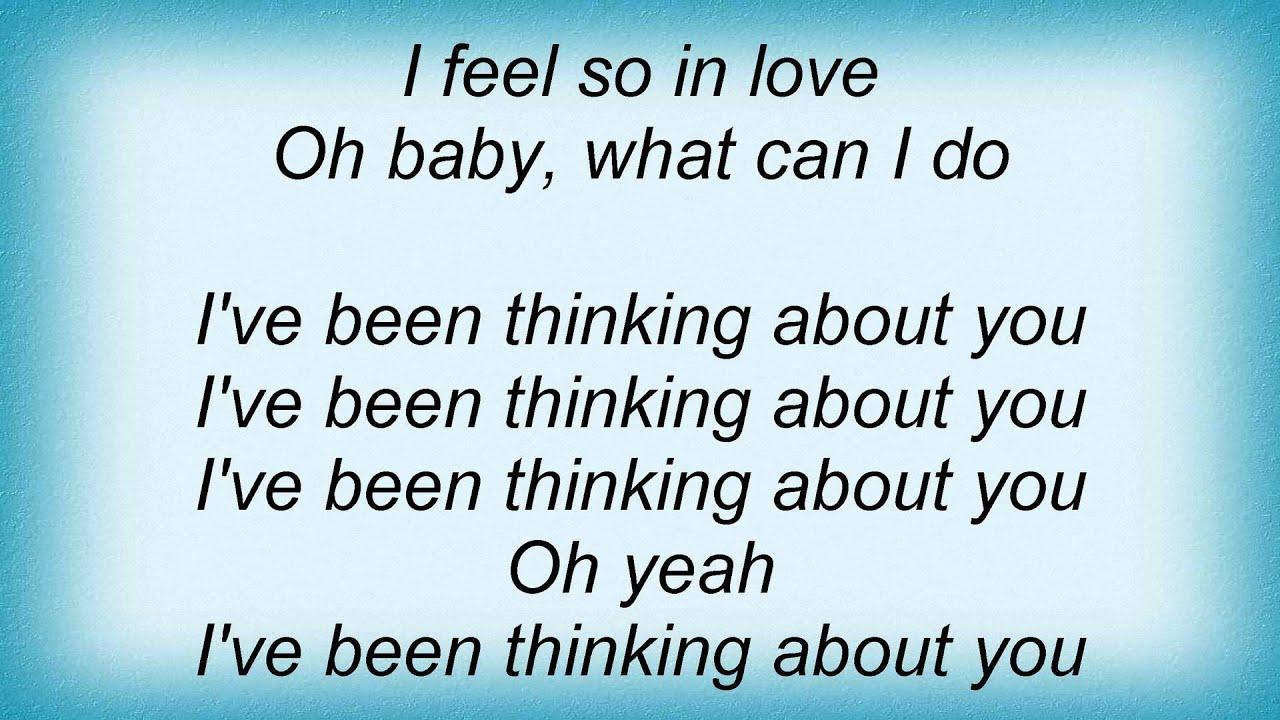 Londonbeat - I've Been Thinking About You Lyrics - YouTube