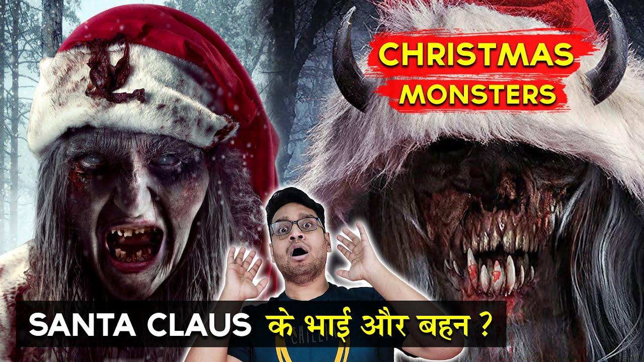 Download Top 10 Scariest Christmas Monsters in Hindi    Santa's Evil Twin Krampus    Horror Christmas Stories