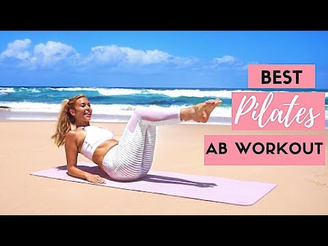 15 Minute Mat Pilates Abs Workout for a Flat Tummy ��