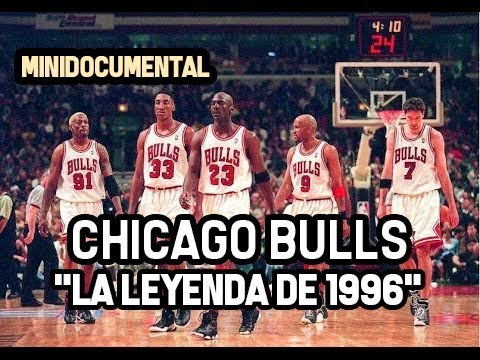 "Chicago Bulls - ""Temporada 1996"" 