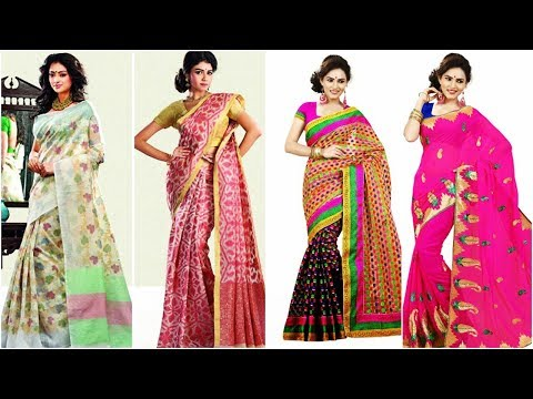Beautiful And Stylish Saree Designs For Party, Wedding And