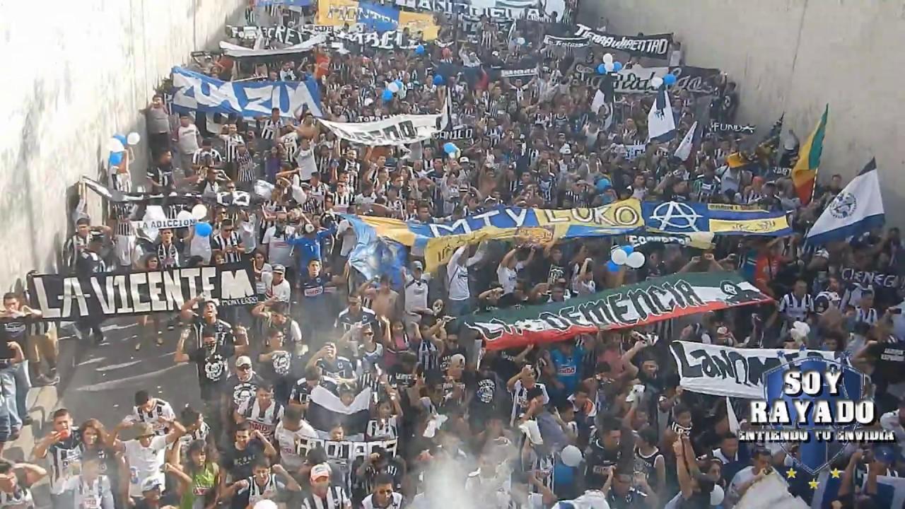 CLÁSICO 105. Caravana al Universitario, LA ADICCIÓN. Tigres vs. Monterrey. - YouTube