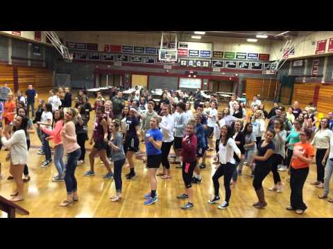 2015 - Edward Little High School (ME) - Kick-Off Program Dance Mash-Up - Full Version