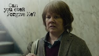 CAN YOU EVER FORGIVE ME? | Elevator Pitch | FOX Searchlight