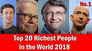 TOP 20 RICHEST PEOPLE OF THE WORLD BY CBS NEWS