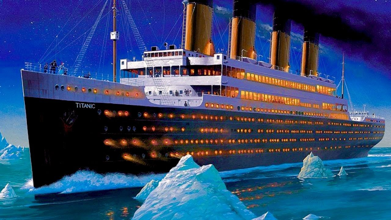 Titanic Footage and Virtual Ship Tour